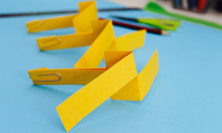 Make A Paper Helicopter Kidspot