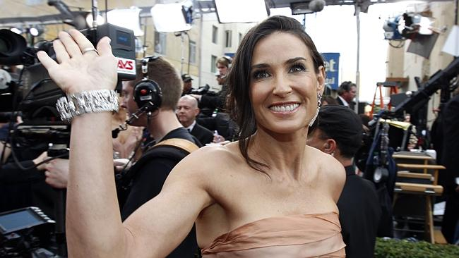 Demi Moore arrives at the 82nd Academy Awards. Photo: Supplied