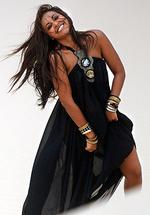 <p>Jessica Mauboy filming of her new video clip at the Kurnell Sand dunes. Pic: Jeremy Piper</p>