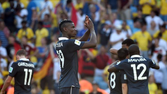 France's midfielder Paul Pogba has much to look forward to.