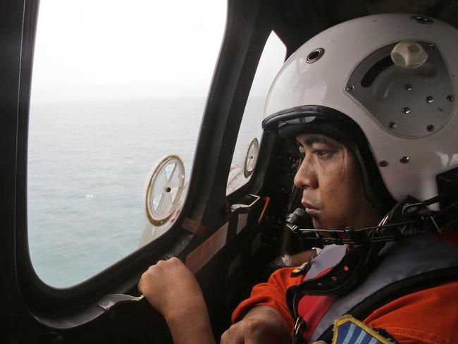 During the search for QZ8501.