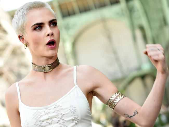 Cara Delevingne has switched from model to actress. Picture: Getty