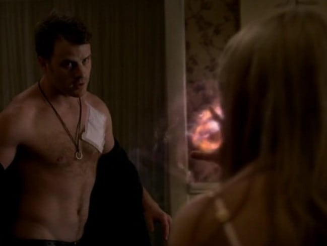 Him too ... Robert Kazinsky is another one of Anna Paquin's co-stars that she had been with on screen.