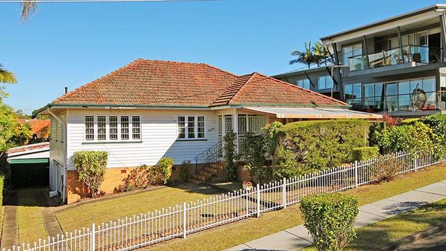 46 Wool St, Toowong was one of the weekend's most popular auctions. Picture: realestate.com.au