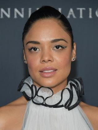 Tessa Thompson will appear at the Baftas with activist guests. Picture: AFP