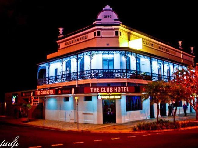 The Club Hotel in Bundaberg.