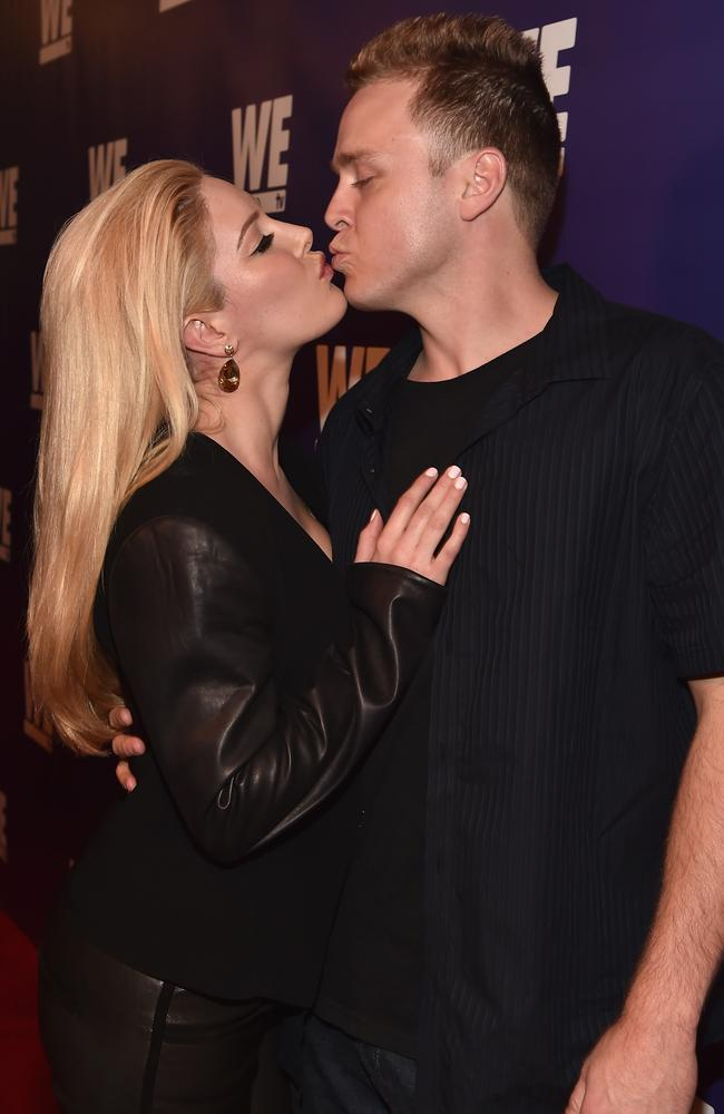 Back in 2008, Heidi's husband, Spencer Pratt, told Ryan Seacrest that the pair keep things PG in the bedroom before they were married by placing pillows between the them to battle temptation. Yes, pillows. Picture: Alberto E. Rodriguez/Getty Images