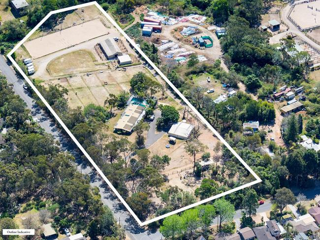 A proposed site for retirement accommodation in Terrey Hills. .