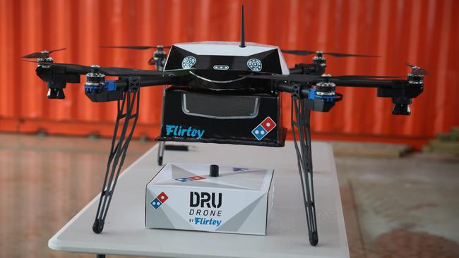 Dominos Pizza Plans To Deliver Food Using Drones In Partnership With Flirtey A Commercial Service Launching Early 2017