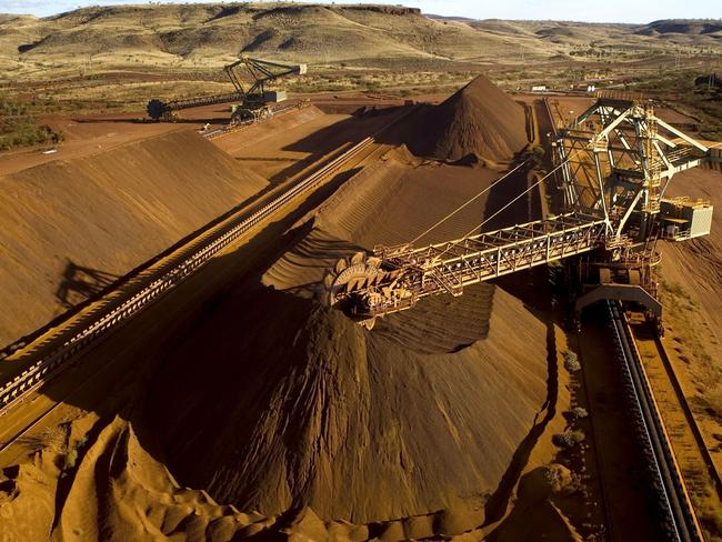 We've relied on it for far too long, but China is fast growing sick of our Iron Ore. Picture: AFP