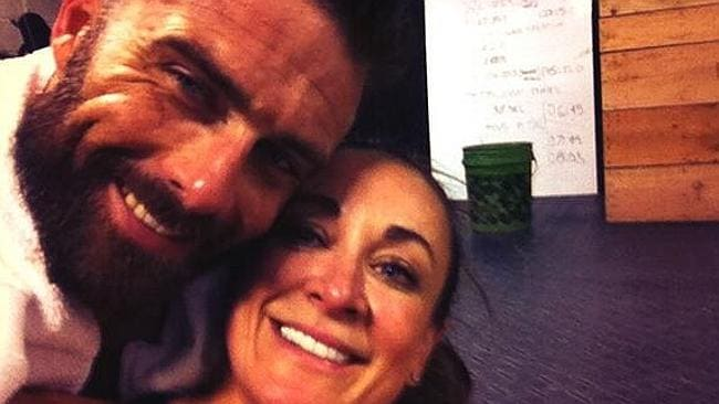 Michelle Bridges and Steve Willis love posting loved-up selfies after training. Picture: Instagram