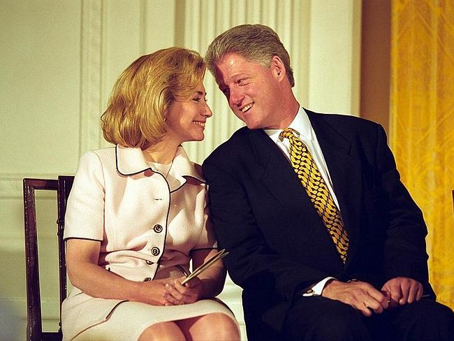"""Humanising ... Ms Clinton was coached to """"be careful to be real"""" during her husband's presidency."""