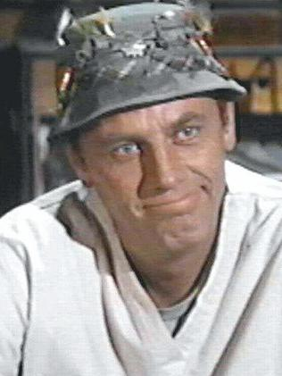 Hit ... McLean Stevenson as Henry Blake in M*A*S*H. Picture: Supplied