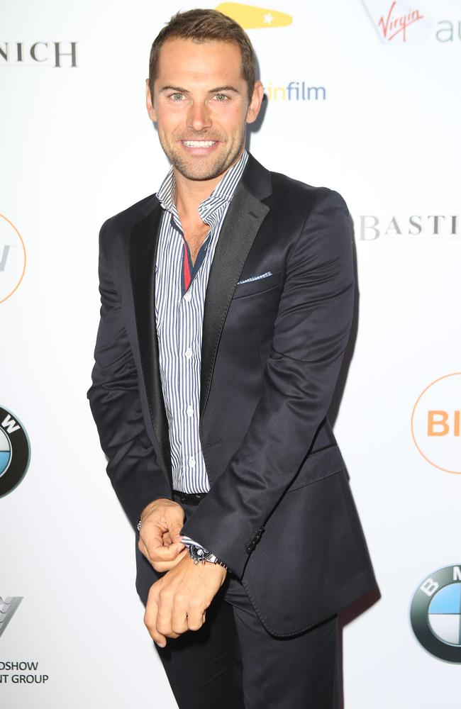 Daniel MacPherson spends a lot of his time in LA.
