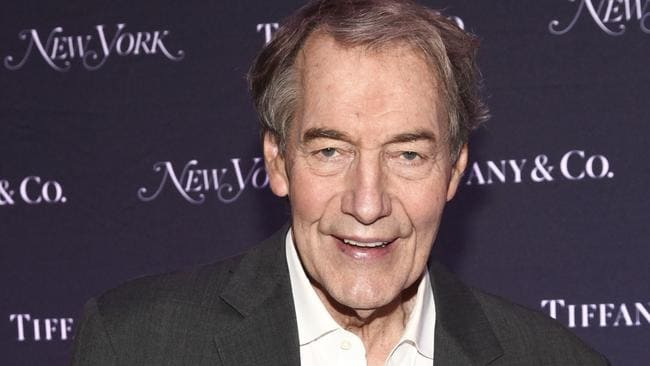 Charlie Rose. Picture: AP