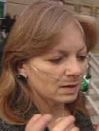 The killer's mother, Jacqueline May, wept in court as her son was found guilty of three murders. Picture: CBC