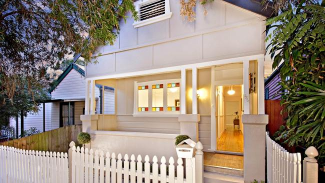 A fibro cottage at 235 Elswick St, Leichhardt took just two minutes to sell at auction. NSW real estate.