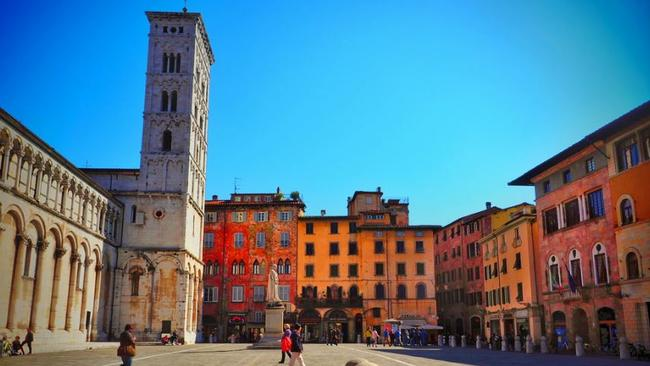 Skip the Leaning Tower for the spectacular city of Lucca. Picture: Stefan Jurca