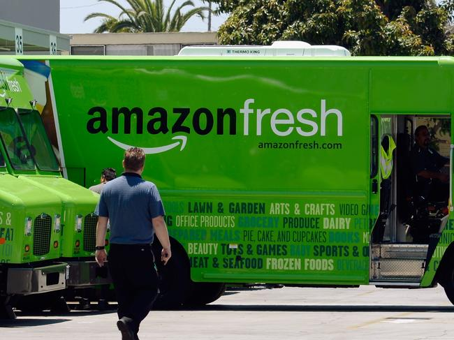 Amazon grocery threat looms large