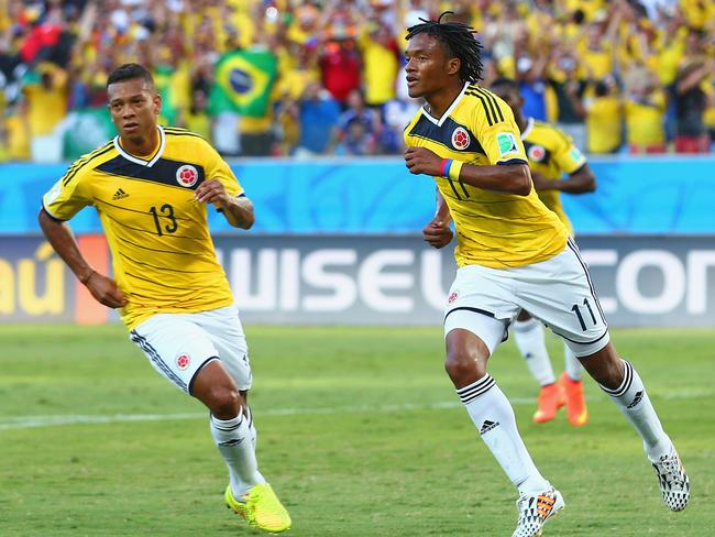 Colombia will finish on top of Group C.