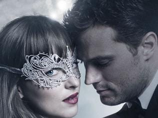 Theatrical poster for the film Fifty Shades Darker.