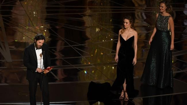 Brie Larson stands by decision not to clap for Casey Affleck