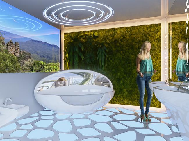 The interactive activation for the House of the Future will be on display at Property Buyer Expo in Sydney.