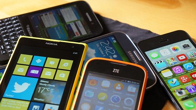 Windows Phone, iOS, Android and BlackBerry are all solid smartphone OS options.