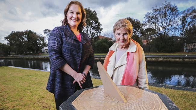 Port Phillip Mayor Bernadene Voss (left) said the tree would be removed. Picture: Wayne Taylor.