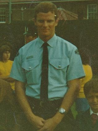 Peter Dein during his time as a police officer / Picture: Supplied