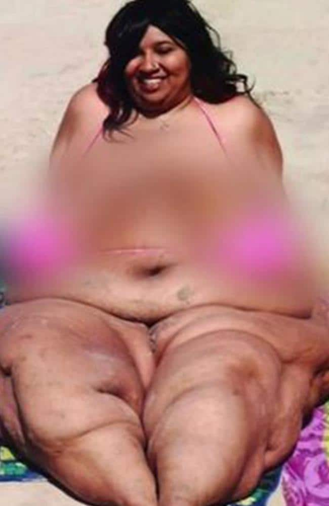 Renee Biran weighed a staggering 286kg. Picture: TLC