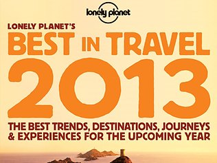 Lonely Planet's Best in Travel 2013 book.