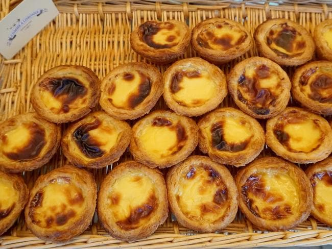 A Portuguese tart in Paris, yes please.