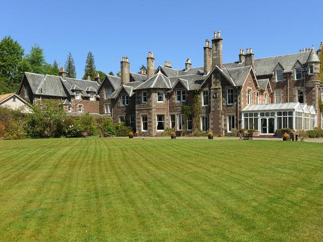 Cromlix House Andy Murray hotel in Perthsire in Scotland.