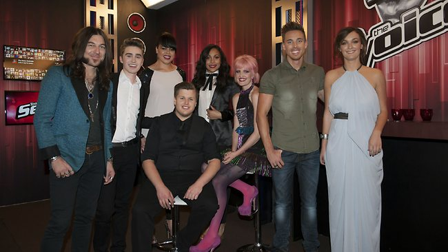 The Voice contestants.