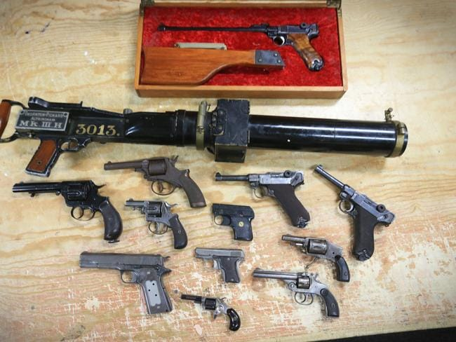 Guns in Australia: Most crazy firearms surrendered for national gun amnesty 2017
