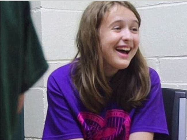 Payton Leutner was stabbed 19 times and left in a park. Picture: Supplied