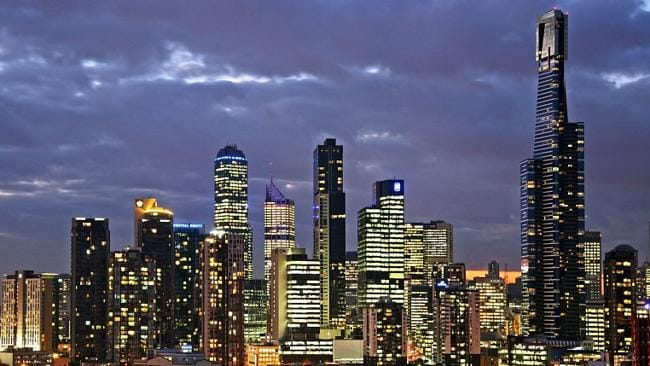 Melbourne house prices grew by 3.3 per cent compared to Sydney's 6.1 per cent.