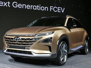 Photo of the 2017 Hyundai Fuel-cell vehicle
