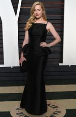 Aussie actress Melissa George arrives at the Vanity Fair Oscar Party on Sunday, Feb. 28, 2016, in Beverly Hills, Calif. (Photo by Evan Agostini/Invision/AP)