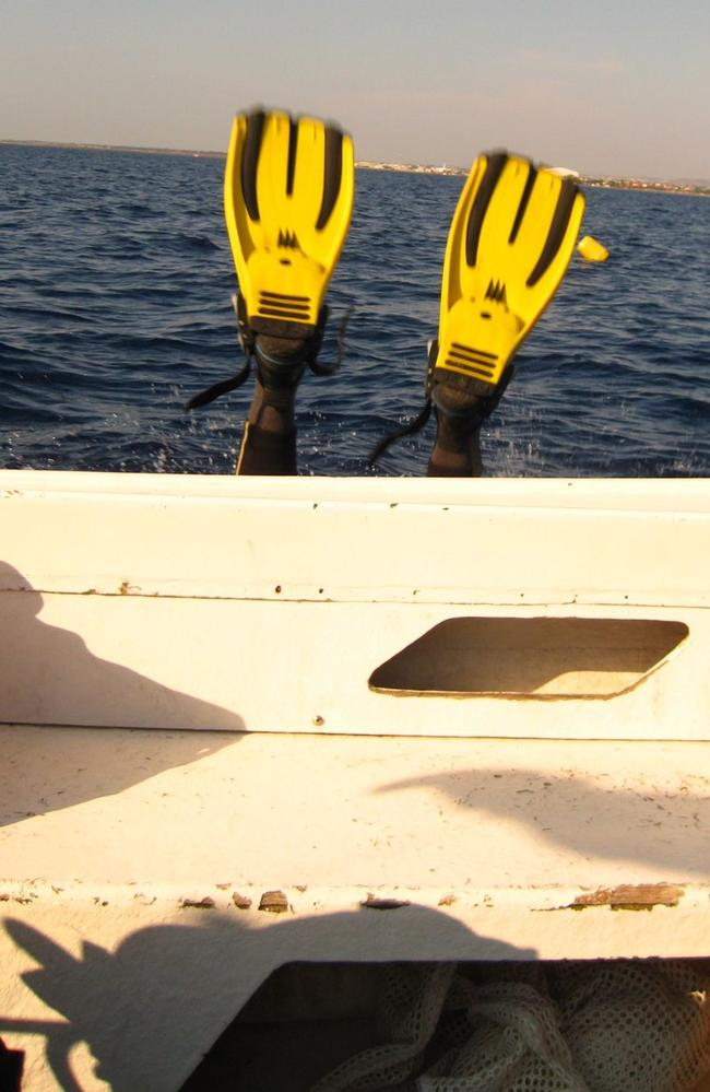 This shot was meant to capture a diver just before he leapt off the boat. Picture: CheapHolidayLand.com