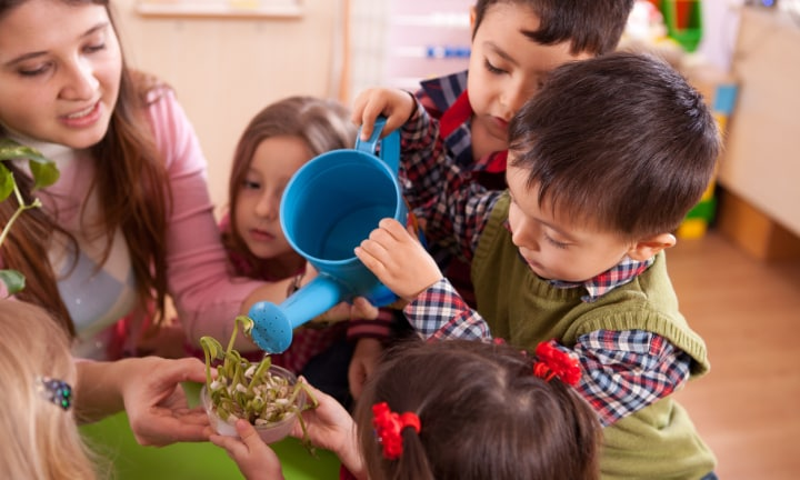 The psychological benefits of daycare on toddlers