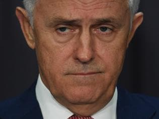 Australia's Prime Minister Malcolm Turnbull speaks during a press conference at Parliament House in Canberra, Monday, March 20, 2017. (AAP Image/Lukas Coch) NO ARCHIVING