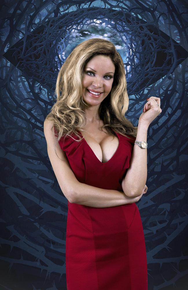 Alicia Douvall, ahead of her Celebrity Big Brother appearance.
