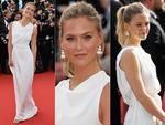 Bar Refaeli attends the opening ceremony and premiere of 'La Tete Haute' ('Standing Tall') during the 2015 Cannes Film Festival. Picture: Getty