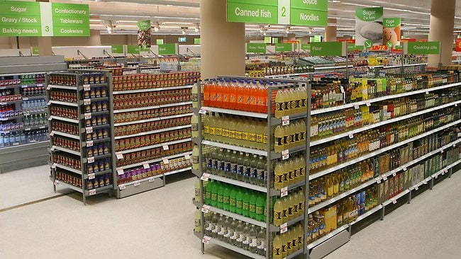 The end of the aisle is the most valuable place in the supermarket . Picture: Tepper Katrina