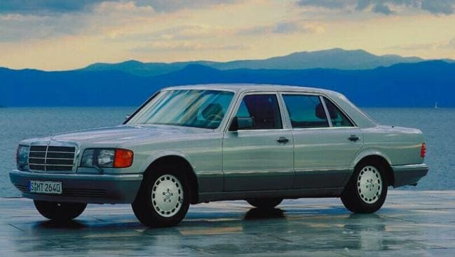 Four ratios ... plus revers: Late 1980s Mercedes.