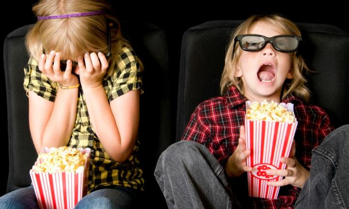What is the best age to take children to the movies?