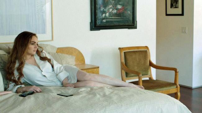 """This film image released by IFC Films shows Lindsay Lohan in a scene from """"The Canyons."""" (AP Photo/IFC Films)"""