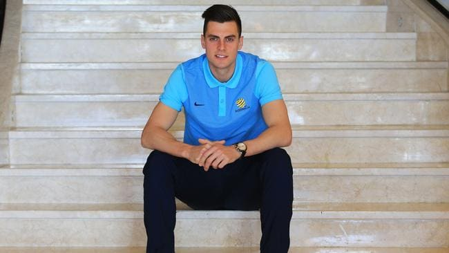 Socceroos striker Tomi Juric in Tehran ahead of the World Cup qualifier with Iraq.